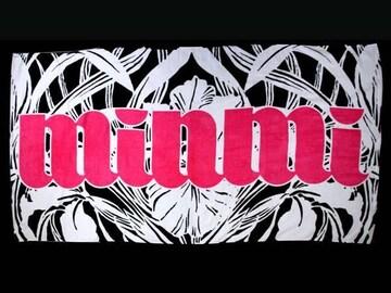 ★【MINMI】ミンミ 大判バスタオル(1)