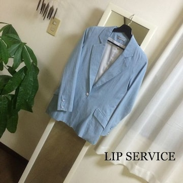 LIP SERVICE テーラードジャケット