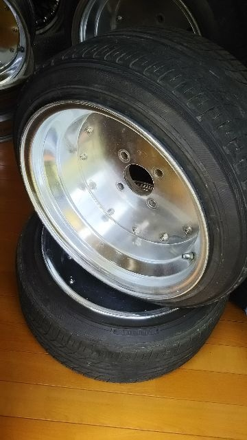 深リムスピードスターマーク�TSSR9J旧車希少美品 < 自動車/バイク