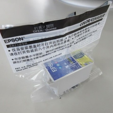 新品未使用 EPSON COLER COULEUR CARTRIDGE B-TYPE