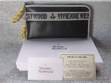 新品未使用箱付■ヴィヴィアンウエストウッド■メンズ 長財布 ■ブラック