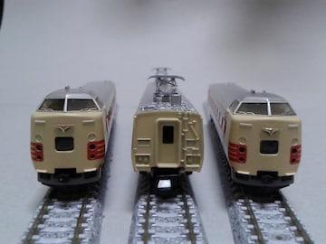 中古 / トミックス製 旧国鉄特急 381系基本3両セット