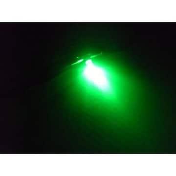 送料無料!三菱ふそうスーパーグレート/エアコンパネル照明LED/緑