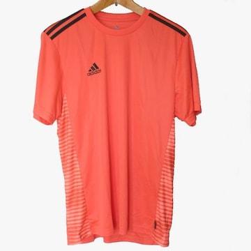 新品O(XL)★アディダス赤プラクティスクライマライトTシャツ