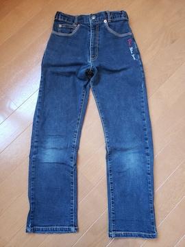 ☆美品☆pappパプ☆ストレッチストレートジーンズ☆130