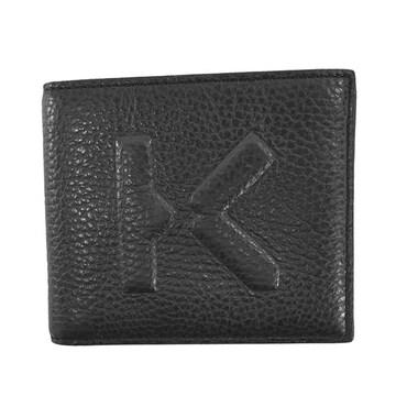 ◆新品本物◆ケンゾー 2つ折財布(BK)『FA65PM503L45』◆