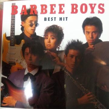 ベストCD BARBEE BOYS ベスト・ヒット 帯なし バービーボーイズ