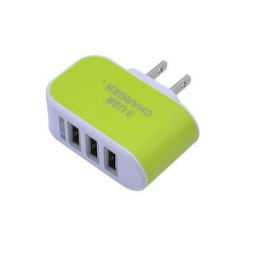 USBアダプター コンセント 3口 USBコンセント ACアダプター