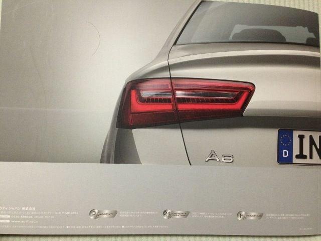 Audi A4とA6カタログ < 自動車/バイク