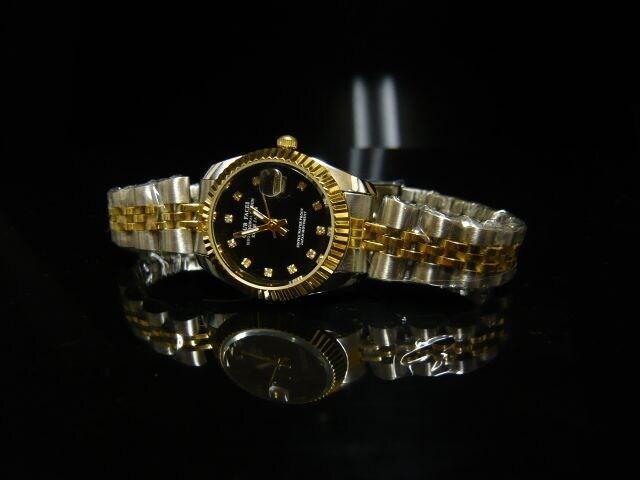 新品 腕時計 コンビ・ブラック/ロレックス好きに < 女性アクセサリー/時計の