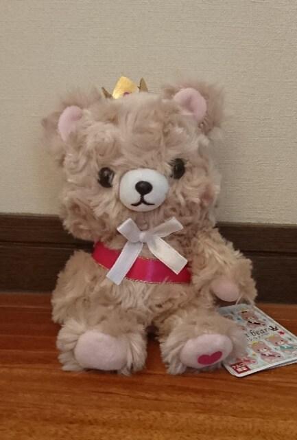ナムコ×King&Prince クラウンベア ピンク…岩橋君カラー キンプリ  < タレントグッズの