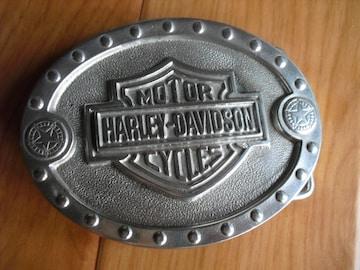 ハーレーダビッドソン ベルト バックル 未使用品