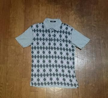 BURBERRY BLACK LABEL★バーバリー★アーガイルポロシャツ★2