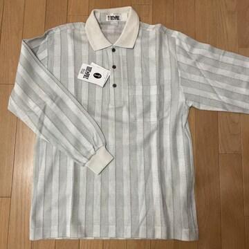 紳士用 羅布麻(ロープーマ)混 長袖ポロシャツ 清涼素材