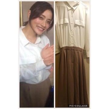 ◆FRAY I.D/フレイアイディー◆シャツコンビネゾン★石原さとみドラマ着用アイテム