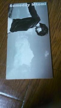 ☆hitomi♪8cmシングルCD〜Someday