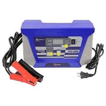 サイズ定格出力:DC12V:10A/DC24V:20A メルテック バッテリー充