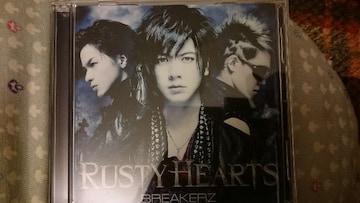 BREAKERZ「RUSTY HEARTS」初回DVD付/DAIGO