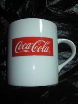 コカ・コーラ コカコーラ ブランド ロゴ プリント デザイン マグカップ コップ ホワイト