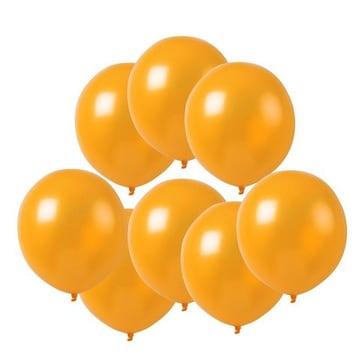 風船 10インチ バルーン 飾り付け オレンジ