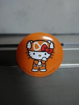 ☆関ジャニ∞ キティー缶バッジ オレンジ 丸山隆平☆