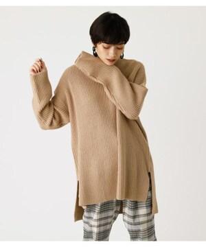 新品タグ付 アズールバイマウジー/AZUL by moussy スリットニット M