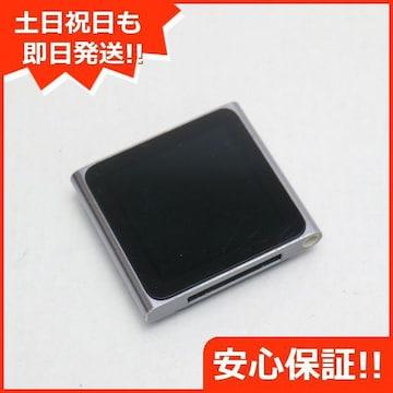 ●安心保証●美品●iPOD nano 第6世代 8GB グラファイト●
