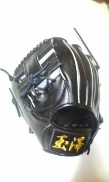 玉澤★新品硬式内野手左投用 エイチ 1
