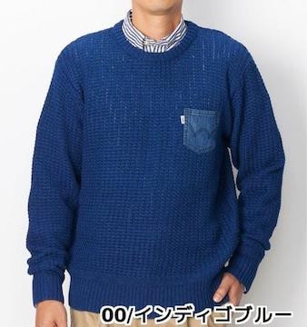 ☆EDWIN(エドウィン)デニムポケットインディゴニット☆