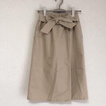 アメリカンホリック ウエストリボン、タック加工ナロースカート♪