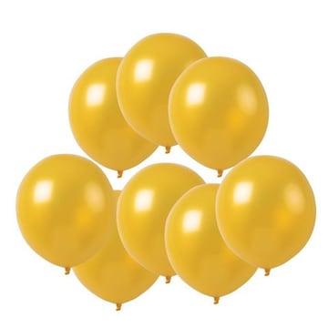 風船 10インチ バルーン 飾り付け ゴールデン