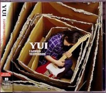 YUI☆I LOVED YESTERDAY☆初回盤☆美品