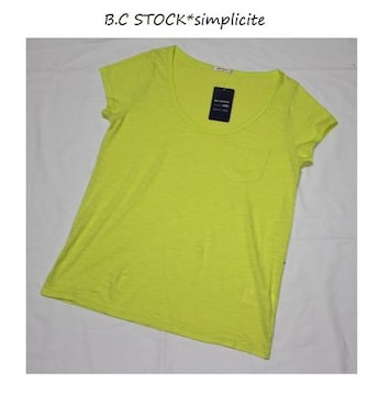 B.C STOCK*simplicite★マーブルヴィンテージTシャツ/新品