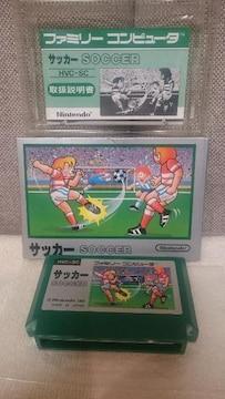 貴重!ファミコン カセット 任天堂 サッカー 1985 Nintendo