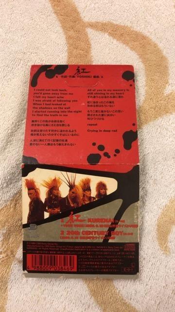 ★X★エックス★紅★中古★シングル★CD < タレントグッズの