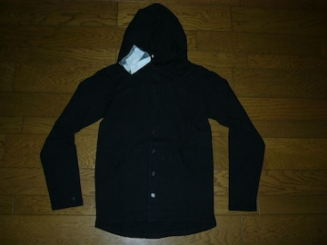 LHP取り扱いTheStandardOutsideパーカーシャツ黒M薄手