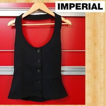 IMPERIAL インペリアル ホルターネックトップス ビスチェ イタリー S 美品