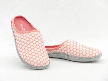 Pansy パンジー ルームシューズ 9216 Mサイズ(23.5cm) ピンク