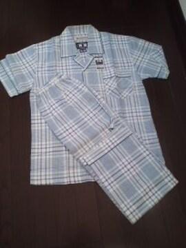 紳士用、半袖パジャマ