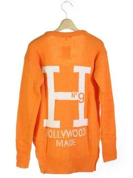 ◆新品◆ハリウッドメイド◆オレンジ・13,800円!!