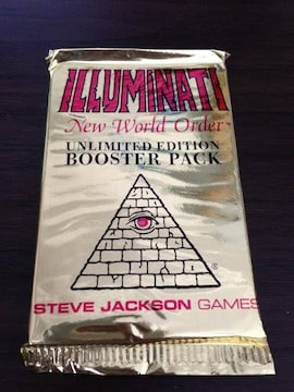 1995 Illuminati New World Order INWO イルミナティカード ブー