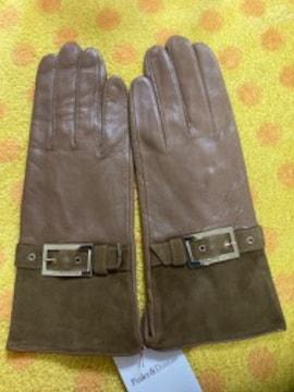 ピンキー&ダイアン 羊皮革手袋ストラップベルト