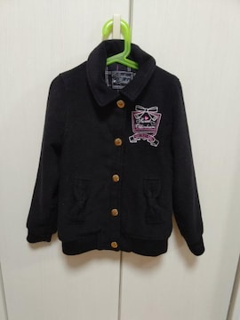 防寒着☆ジャンパー ジャケット☆サイズ130☆used☆女児通学