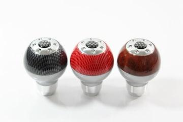 取付例あり 5色より選択/高品質汎用シフトノブtype7
