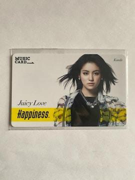 Happiness☆Juicy Love 楓 MCカード☆