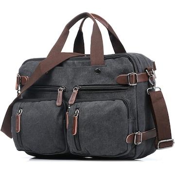 ボストンバッグ 旅行鞄 キャンバス メンズ 出張 ブラック
