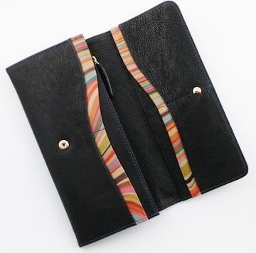 1点限り☆新品 ポールスミス 内側マルチデザイン 長財布 n24
