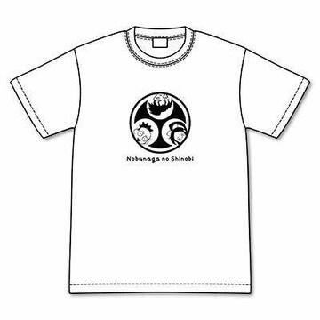 送料無料!信長の忍びキャラ家紋 TシャツLサイズ