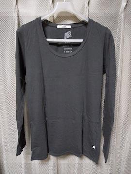 relume ジャーナルスタンダード 長袖Tシャツ カットソー Sサイズ チャコールグレー 黒 ロンT