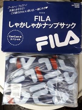 未使用FILA × CanCam しゃかしゃか ナップサック